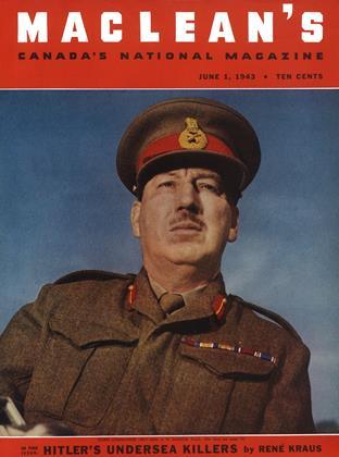 JUNE 1, 1943 | Maclean's