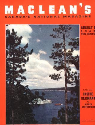 AUGUST 1 1943 | Maclean's
