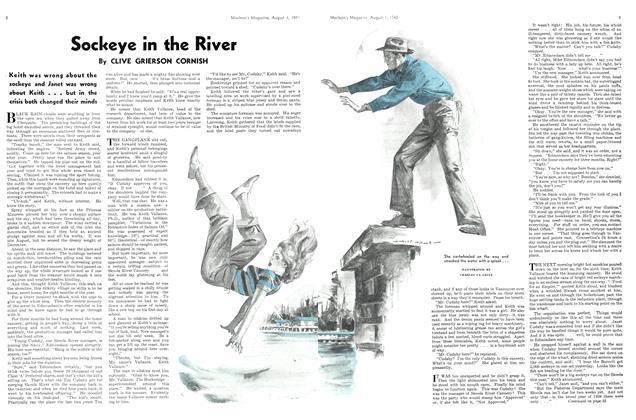 Sockeye in the River