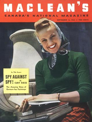 Cover for the September 15 1943 issue