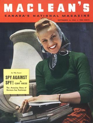SEPTEMBER 15, 1943 | Maclean's