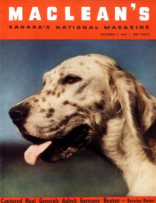 Cover for the October 1 1943 issue