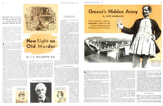 New Light on Old Murder
