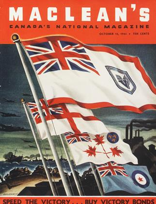 Cover for the October 15 1943 issue