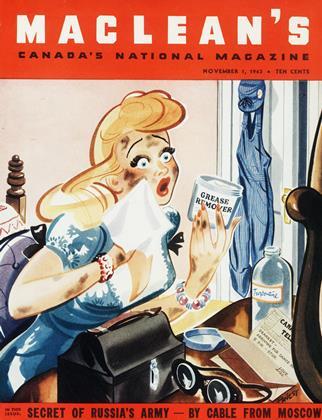 NOVEMBER 1, 1943 | Maclean's