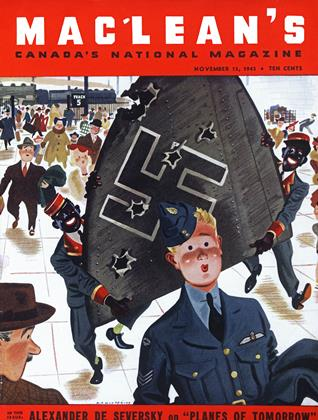 Cover for the November 15 1943 issue