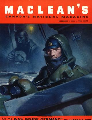 Cover for the December 1 1943 issue