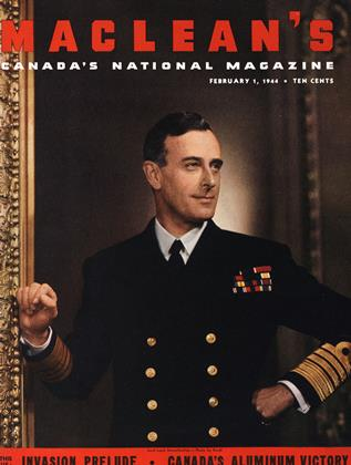 Cover for the February 1 1944 issue