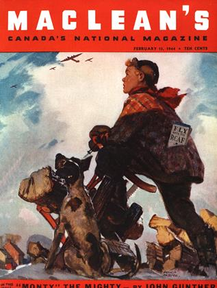 Cover for the February 15 1944 issue