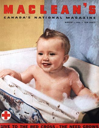 Cover for the March 1 1944 issue