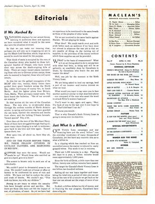 APRIL 15, 1944 | Maclean's