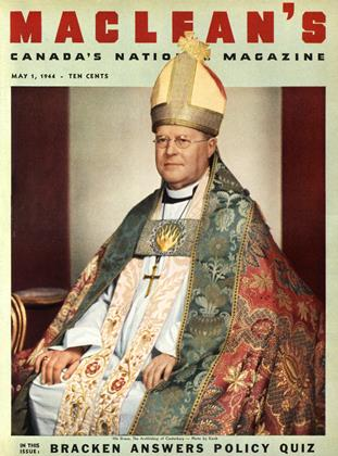 Cover for the May 1 1944 issue