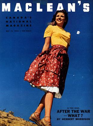 Cover for the May 15 1944 issue
