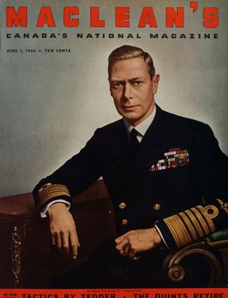 Cover for the June 1 1944 issue