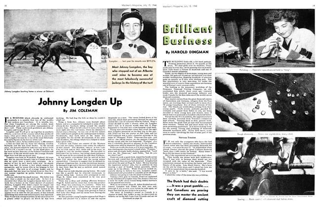 Johnny Longden Up