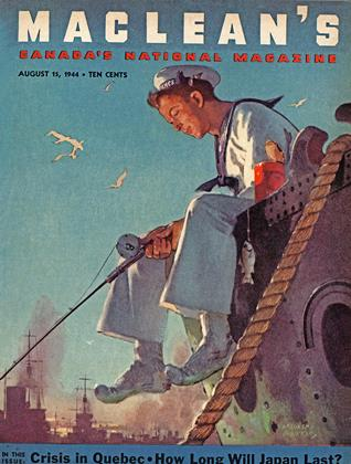 Cover for the August 15 1944 issue