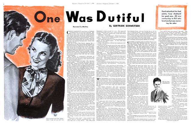 One Was Dutiful