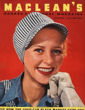 NOVEMBER 1, 1944 | Maclean's