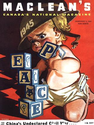 Cover for the January 1 1945 issue