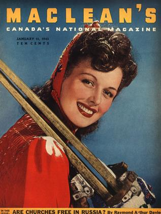 Cover for the January 15 1945 issue