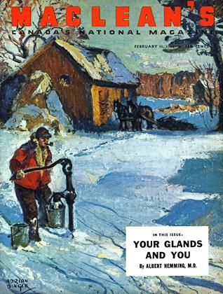 Cover for the February 15 1945 issue