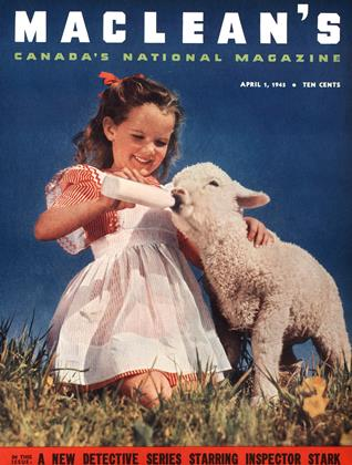 Cover for the April 1 1945 issue