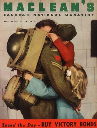 Cover for the April 15 1945 issue
