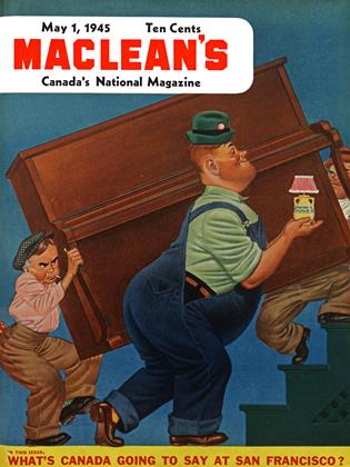 Cover for the May 1 1945 issue