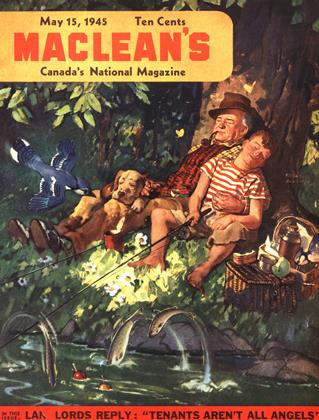 Cover for the May 15 1945 issue