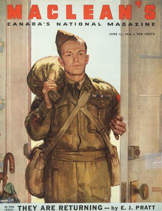 Cover for the June 15 1945 issue