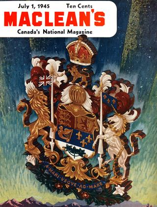 Cover for the July 1 1945 issue