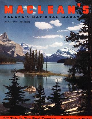 Cover for the July 15 1945 issue