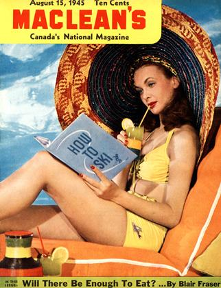Cover for the August 15 1945 issue