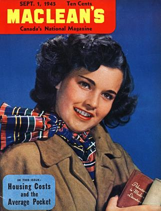 Cover for the September 1 1945 issue