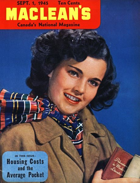 Issue: - SEPT. 1, 1945 | Maclean's
