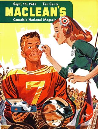 Cover for the September 15 1945 issue