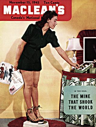 Cover for the November 15 1945 issue