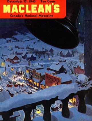 Cover for the December 15 1945 issue