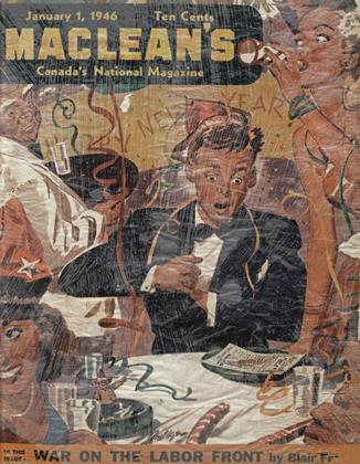 Cover for the January 1 1946 issue