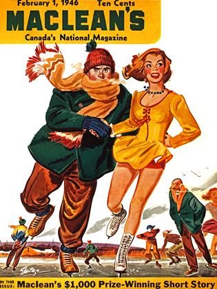 Cover for the February 1 1946 issue