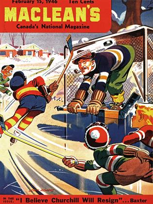 Cover for the February 15 1946 issue