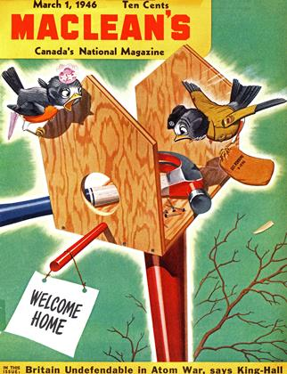 Cover for the March 1 1946 issue