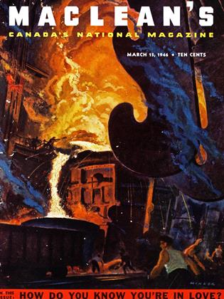 Cover for the March 15 1946 issue