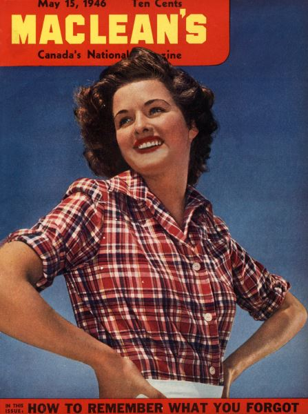 Issue: - May 1946   Maclean's