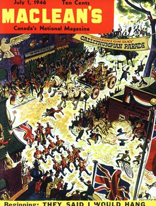 Cover for the July 1 1946 issue