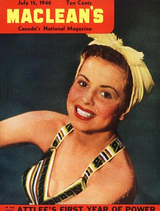Cover for the July 15 1946 issue