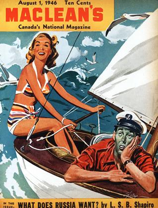 Cover for the August 1 1946 issue