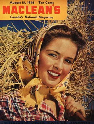 Cover for the August 15 1946 issue
