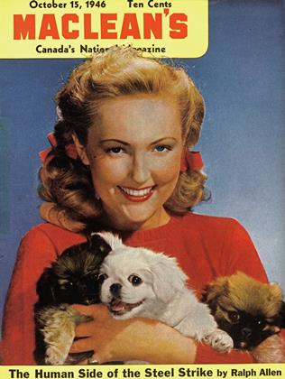 Cover for the October 15 1946 issue