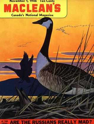 Cover for the November 1 1946 issue